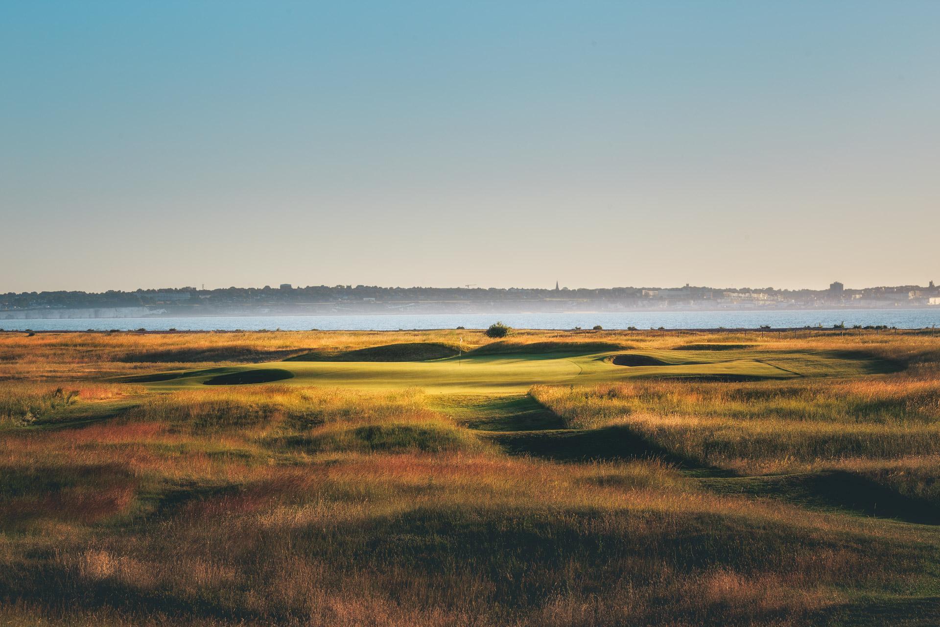 Royal St George's golf course Sandwich Kent