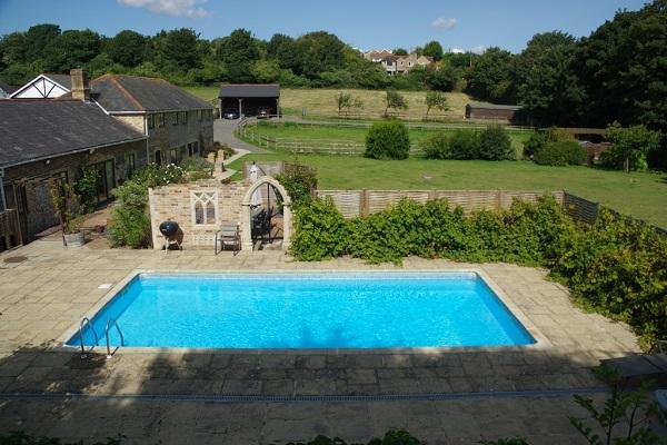 Bowden Lodge pool